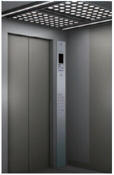 高层建筑标注候梯的样式蒂森福音TE-HP61a0电梯上班图纸图片