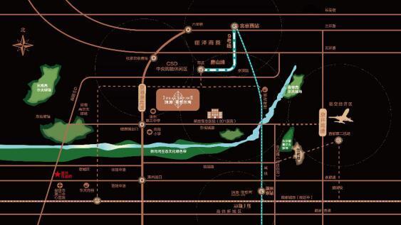 鸿坤·理想尔湾 京西南1900米直通尔湾生活
