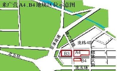 大牌房企暗战来广营热地 楼面价或超1.4万/平米