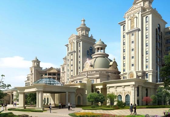 万豪酒店进驻燕郊核心区汇福悦榕湾情趣再升价值姚诗涵图片
