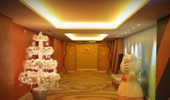 济州岛乐天酒店hello kitty房间让我喜爱到想天天住