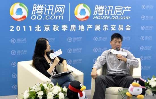 朱孔仁:百合尚城花园洋房将成地标性建筑