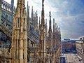 米兰大教堂—500年打造而成的艺术品(组图)