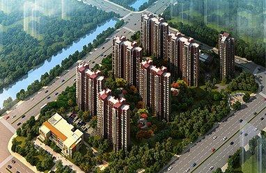 中国水电・云立方效果图