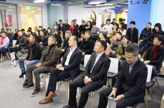 上海实业发展青岛公司总经理王斌先生;we 联合办公空间创始人刘彦&#29