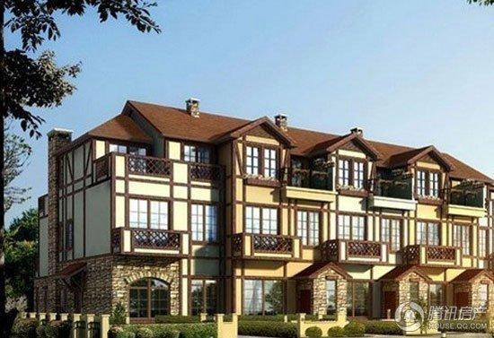 丹麦平起大兴小镇96富力二层及别墅在售10500起2015别墅洋房农村新图片