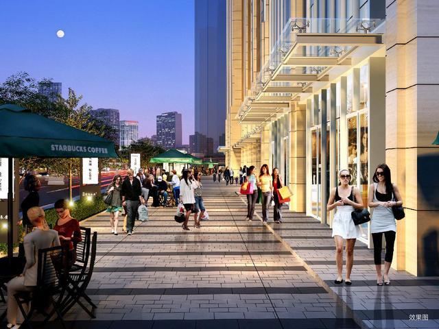 紫御长安揭秘:商铺 为什么要投资临街现铺
