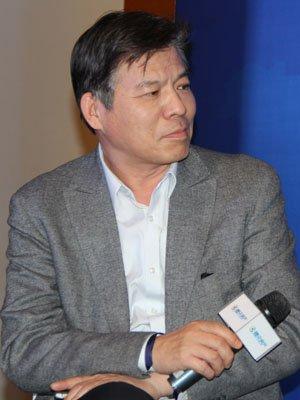 图文:北京房地产协会秘书长陈志发言