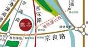 中国铁建・国际花园区位图
