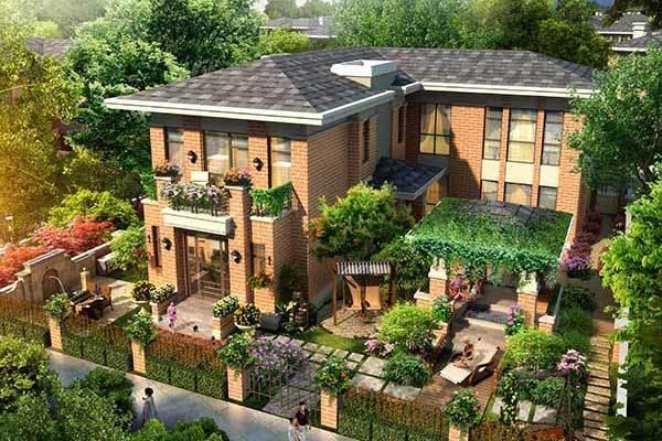 美泉园墅只为打造全新的绿色生活