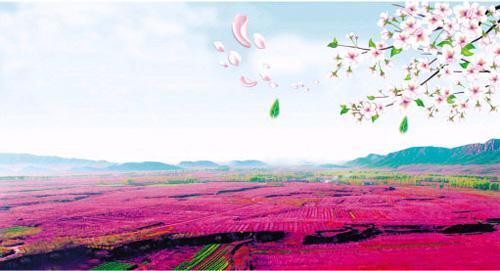首城汇景墅空中赏花:打开平谷桃花节的最佳方式