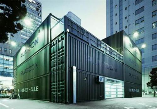 北京天恒世界集集装箱建筑艺术打造人文生活地标