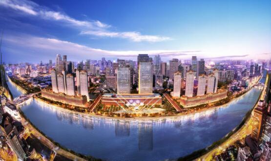 从中国高度到中国实力 看金茂如何改写天津封面
