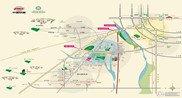 中国铁建・国际花园交通图
