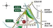 中国铁建・国际花园地图