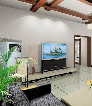 组图 装扮与众不同的家 客厅电视墙装修 高清图片