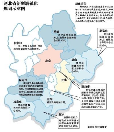 保定拟建首都行政事业功能疏解区 北京4条地铁延河北