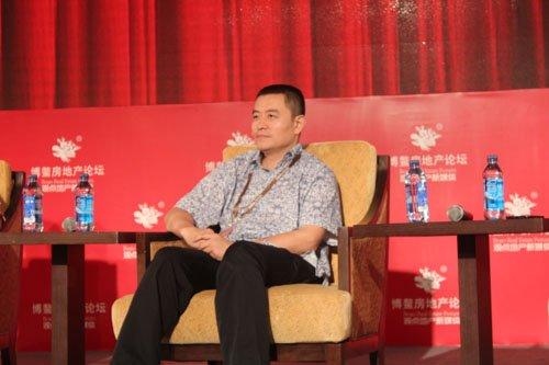 图文:金融街控股股份有限公司副总经理王志刚