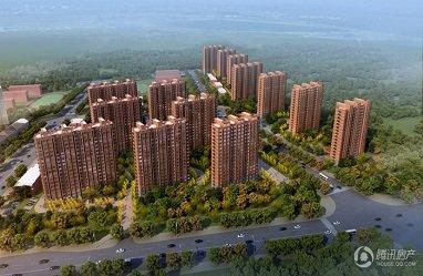 中国铁建・国际花园规划图