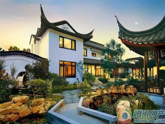 怀柔龙山新新小镇中式独栋别墅在售均价25000
