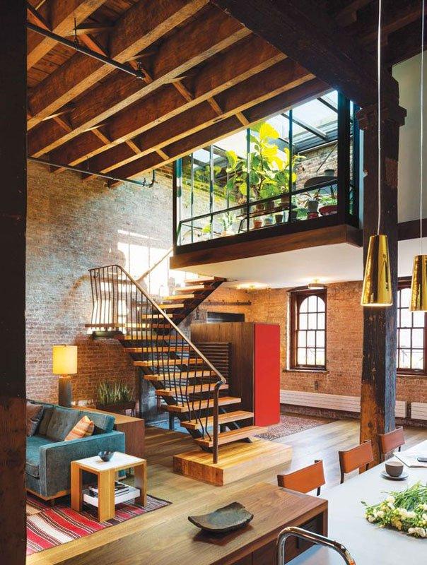 造价不菲 工业厂房改造为家居住宅成设计新潮图片
