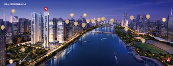 运河商务区开启冲刺模式 成大广场率先领跑