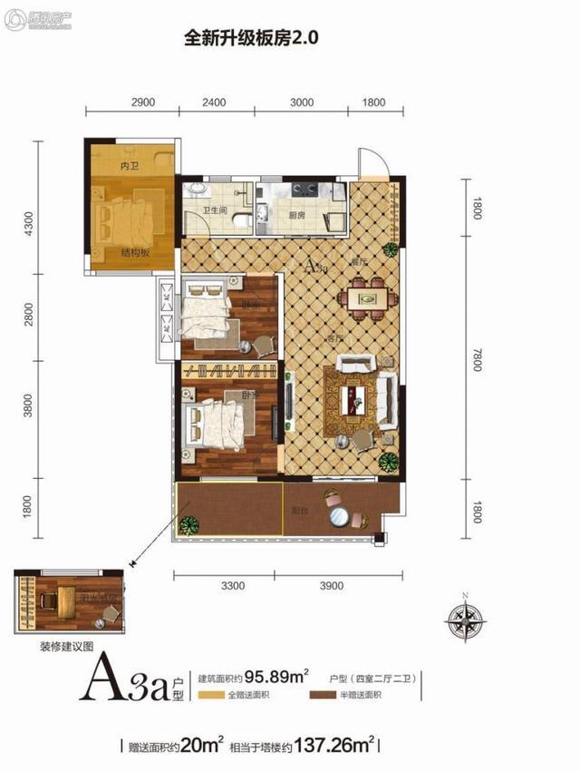 Q友买房:长沙8000元/平以内交通便利小户型