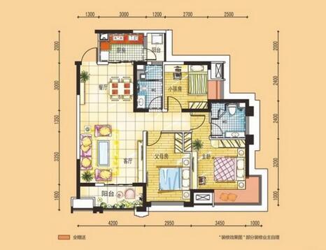 09:01 这个户型通常来说应该是在120-140平方之间,户型是三室两厅两卫