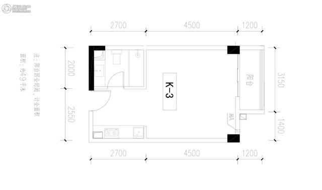 Q友买房:求推荐望城区4-5千价位 三房两卫户型