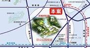 龙湖・湘风星城区位图