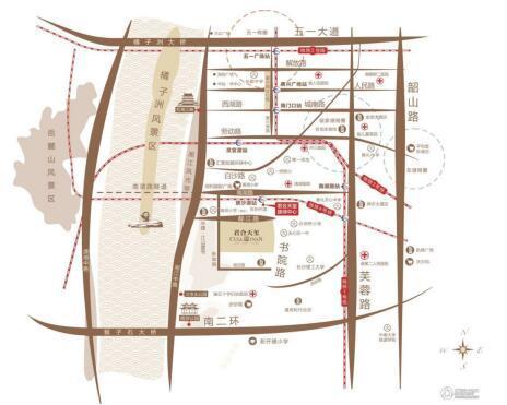 长沙地铁4号线沿线楼盘 最低7000元/平起