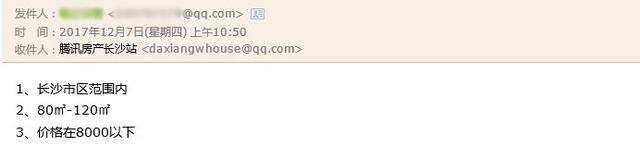 Q友买房:长沙市区价格8000元/平以下楼盘