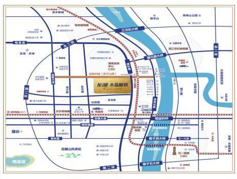 长沙地铁4号线沿线楼盘 最低7000元\/平起