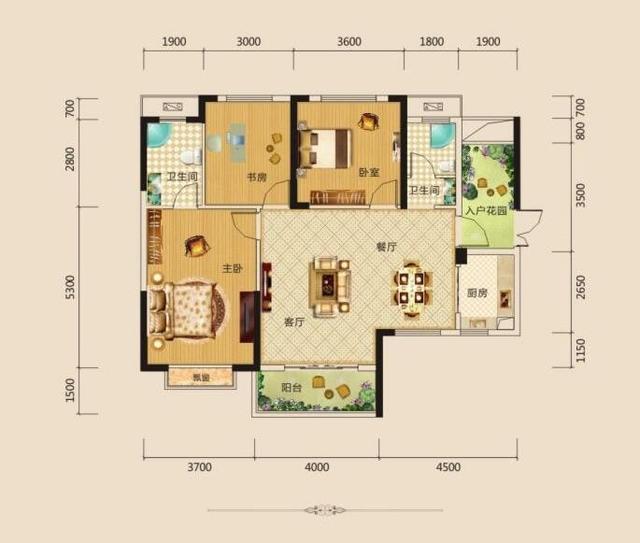 120平的房子要有多少张装修设计图 ?