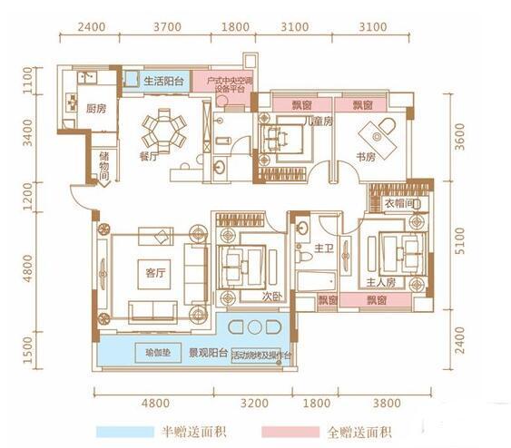 Q友买房:南城140平左右洋房 环境舒适交通方便