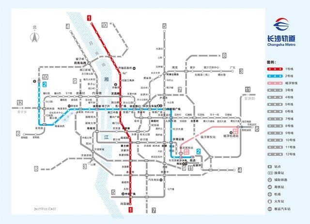 2018年地铁4号线试运营 长沙价值线将重新定义