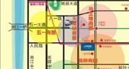 长房中庭国际区位图
