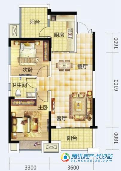 Q友买房:逃离北上广 长沙首付20万地铁房等你回家