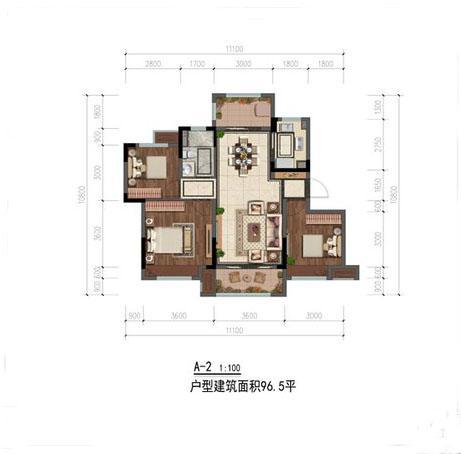Q友买房:首付30万内南城交通便利80-120㎡三房