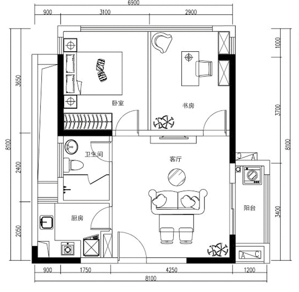 Q友买房:长沙外地人买房被限购 求市中心两居室公寓