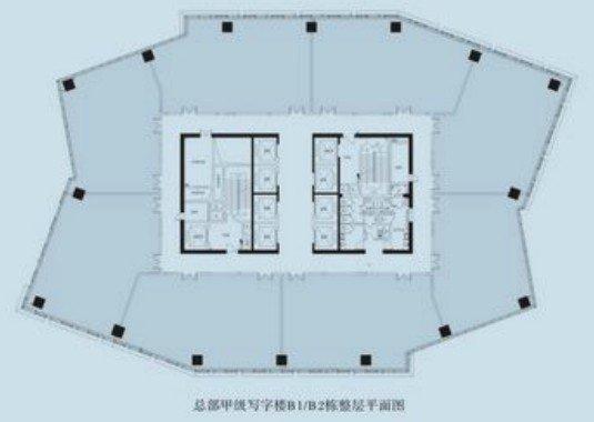 德思勤城市广场楼层平面图