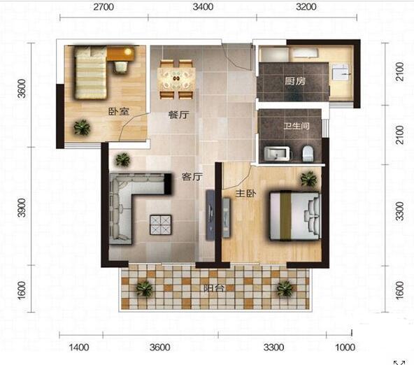 Q友买房:求地铁3号线旁90平内小户型 房价6千以内