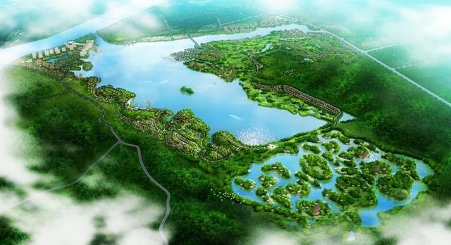 洋沙湖国际旅游度假区亮相 并与全球品牌战略合作签约