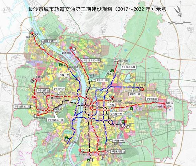 2020年地铁成网 长沙楼市将被重新定义