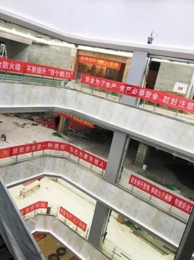 中邦世纪广场购物中心开业在即 近百商户火热装修中