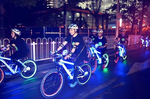 8月15日宁乡首届荧光夜骑活动 即将启幕
