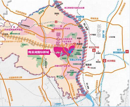 长沙地铁线路图
