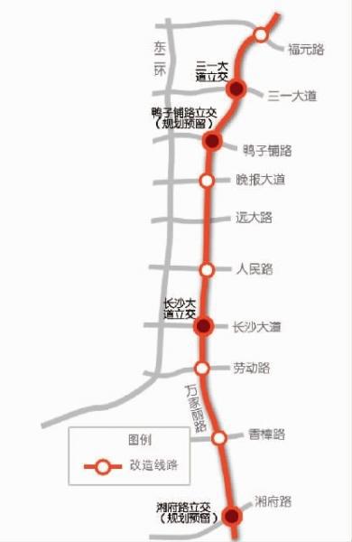 进入BRT时代!万家丽快速公交3月运行 沿线楼盘得靠抢?