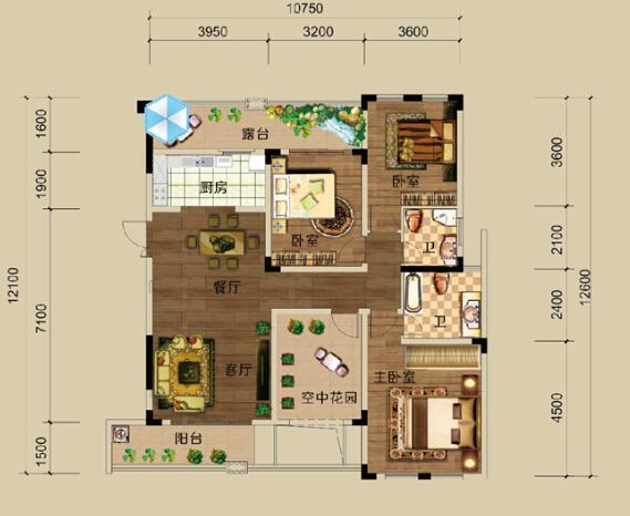 定制购房:高富帅寻120-150平小洋房 配套好绿化率高