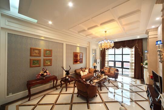 8米客厅挑高,与别墅分天下